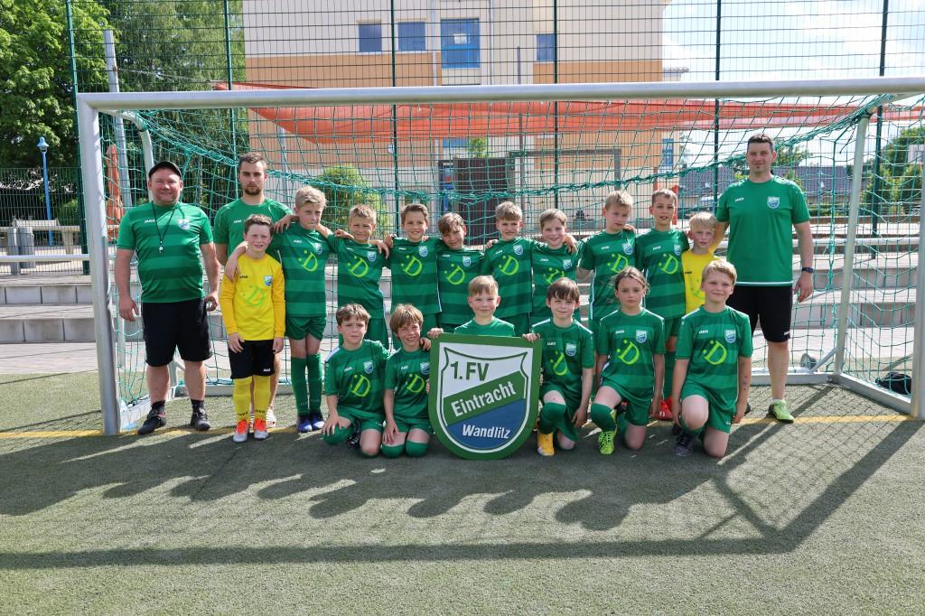 20210609 E2-Junioren Jahrgang 2012 Mannschaftsfoto
