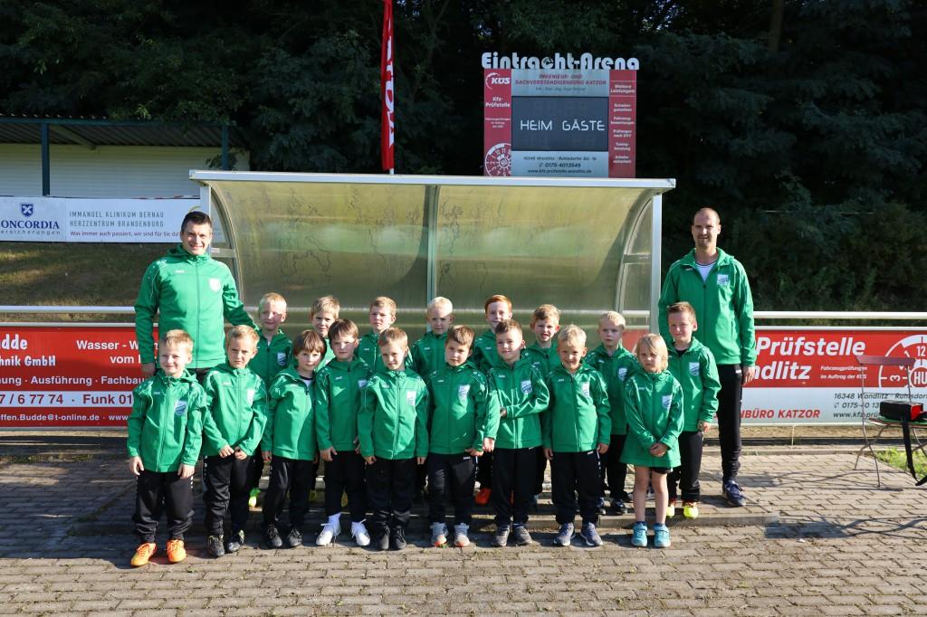 20210908 Kindermannschaft Jahrgang 2015 Saison 2021-2022