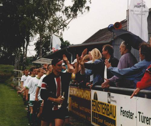 2001 Juni Pokalfinale gegen Werneuchen, 3-1 gewonnen, Quelle Privatarchiv Peter Sorgatz3